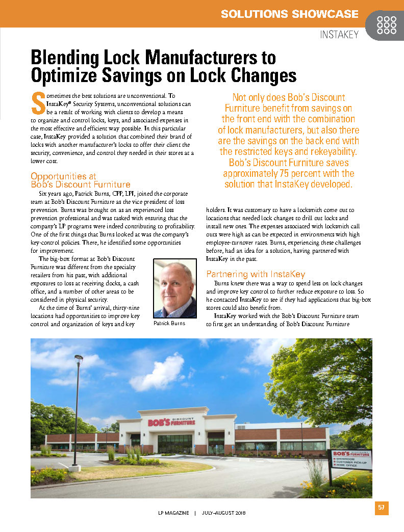 Blending Lock Manufacturers to Optimize Savings on Lock Changes