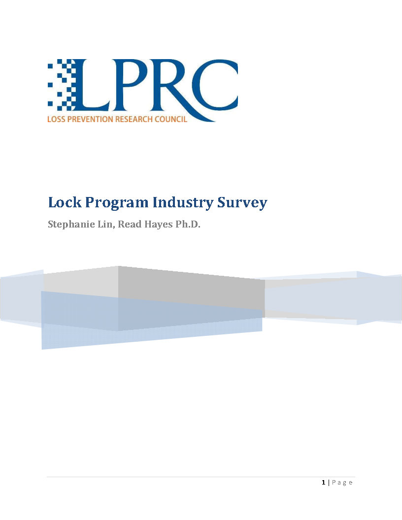 Lock Program Industry Survey Report