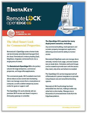 RemoteLock OpenEdge CG